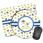 Boy's Space Themed Mouse Pads (Personalized)