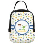 Boy's Space Themed Neoprene Lunch Tote (Personalized)