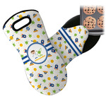 Boy's Space Themed Neoprene Oven Mitt (Personalized)