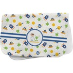 Boy's Space Themed Burp Cloth (Personalized)