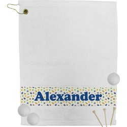 Boy's Space Themed Golf Towel (Personalized)