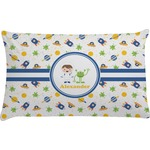 Boy's Space Themed Pillow Case - Toddler (Personalized)