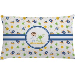 Boy's Space Themed Pillow Case (Personalized)