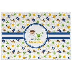 Boy's Space Themed Placemat (Laminated) (Personalized)