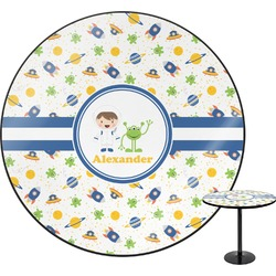 Boy's Space Themed Round Table (Personalized)