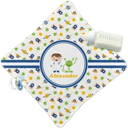 Boy's Space Themed Security Blanket (Personalized)