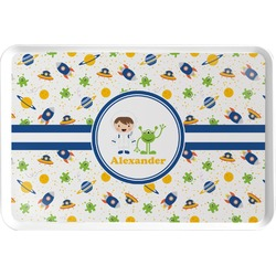 Boy's Space Themed Serving Tray (Personalized)