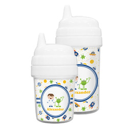 Boy's Space Themed Sippy Cup (Personalized)
