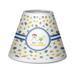 Boy's Space Themed Chandelier Lamp Shade (Personalized)