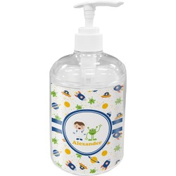 Boy's Space Themed Acrylic Soap & Lotion Bottle (Personalized)