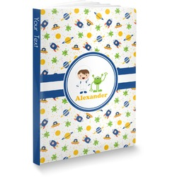 Boy's Space Themed Softbound Notebook (Personalized)