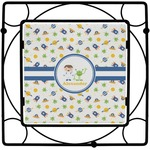 Boy's Space Themed Square Trivet (Personalized)