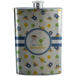 Boy's Space Themed Stainless Steel Flask (Personalized)