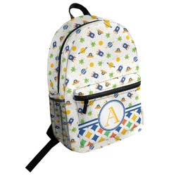 Boy's Space Themed Student Backpack (Personalized)