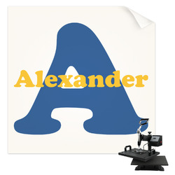 Boy's Space Themed Sublimation Transfer (Personalized)