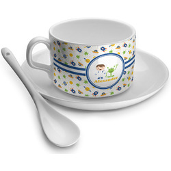 Boy's Space Themed Tea Cups (Personalized)