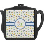 Boy's Space Themed Teapot Trivet (Personalized)