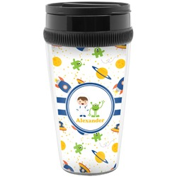 Boy's Space Themed Travel Mug (Personalized)