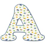 Boy's Space Themed Letter Decal - Custom Sized (Personalized)