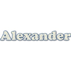 Boy's Space Themed Name/Text Decal - Custom Sizes (Personalized)