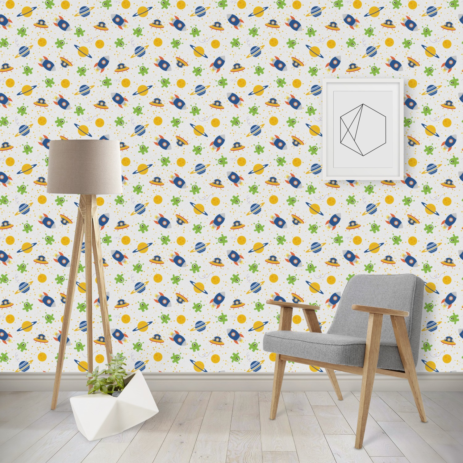 Boys Space Themed Wallpaper Surface Covering Youcustomizeit