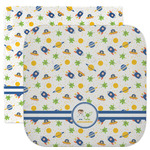 Boy's Space Themed Facecloth / Wash Cloth (Personalized)