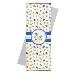 Boy's Space Themed Yoga Mat Towel (Personalized)