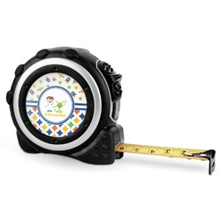 Boy's Space & Geometric Print Tape Measure - 16 Ft (Personalized)
