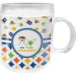 Boy's Space & Geometric Print Acrylic Kids Mug (Personalized)