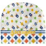 Boy's Space & Geometric Print Baby Hat (Beanie) (Personalized)
