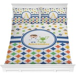 Boy's Space & Geometric Print Comforters (Personalized)