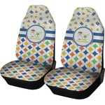 Boy's Space & Geometric Print Car Seat Covers (Set of Two) (Personalized)