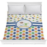 Boy's Space & Geometric Print Comforter (Personalized)