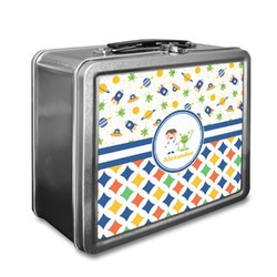 Boy's Space & Geometric Print Lunch Box (Personalized)