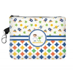 Boy's Space & Geometric Print Golf Accessories Bag (Personalized)