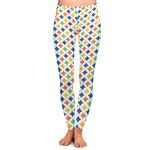 Boy's Space & Geometric Print Ladies Leggings (Personalized)