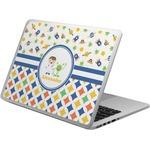 Boy's Space & Geometric Print Laptop Skin - Custom Sized (Personalized)