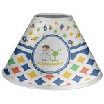 Boy's Space & Geometric Print Coolie Lamp Shade (Personalized)