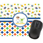 Boy's Space & Geometric Print Mouse Pads (Personalized)