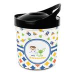 Boy's Space & Geometric Print Plastic Ice Bucket (Personalized)