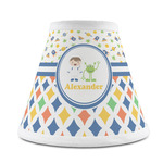 Boy's Space & Geometric Print Chandelier Lamp Shade (Personalized)
