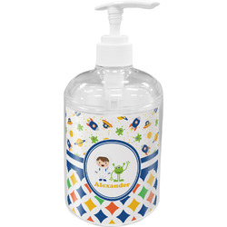 Boy's Space & Geometric Print Soap / Lotion Dispenser (Personalized)