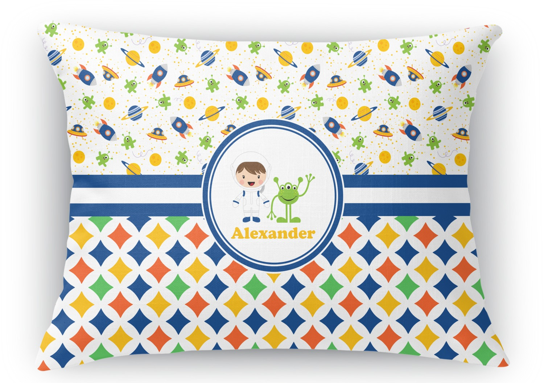 Throw Pillows Lagos : Boy s Space & Geometric Print Rectangular Throw Pillow - 12