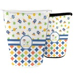 Boy's Space & Geometric Print Waste Basket (Personalized)