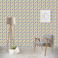 Boy's Space & Geometric Print Wallpaper & Surface Covering