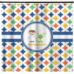 Boy's Astronaut Shower Curtain (Personalized)