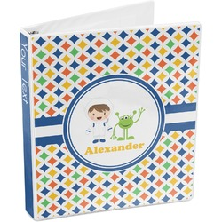 Boy's Astronaut 3-Ring Binder (Personalized)