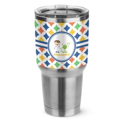 Boy's Astronaut Stainless Steel Tumbler - 30 oz (Personalized)