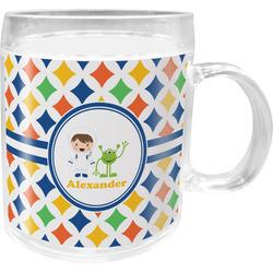 Boy's Astronaut Acrylic Kids Mug (Personalized)