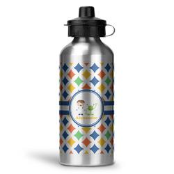 Boy's Astronaut Water Bottle - Aluminum - 20 oz (Personalized)
